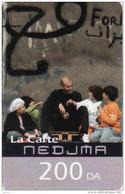 Algerie Recharge Nedjma 200 DA Carte, Zinedine Zidane - Algeria