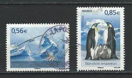"""FR YT 4350 & 4351 """" Protection Des Pôles Et Des Glaciers """" 2009 Oblitéré - Francia"""