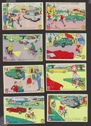 6 Images - Prévention Routière - Scans Recto/verso - Chromos
