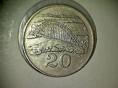 Zimbabwe 20 Cents 1988 - Zimbabwe