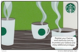 Malaysia Starbucks Card  Aroma 2012-6085 - Gift Cards