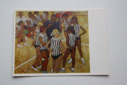 """Soloviev """"Minute Break"""".  Volleyball. OLD Postcard 1979 - Very Rare Edition! - Volleyball"""