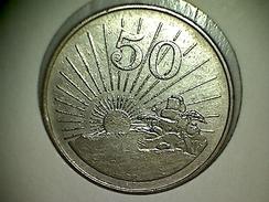 Zimbabwe 50 Cents 1980 - Zimbabwe