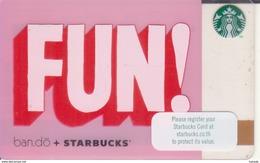 Thailand Starbucks Card FUN 2016 - 6136 - Gift Cards