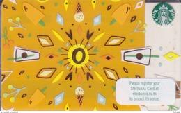 Thailand Starbucks Card Sommer 2016 - 6136 - Gift Cards