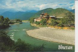 BHUTAN  -  PUNAKHA DZONG  - - Bhoutan