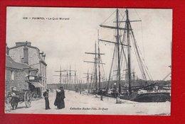 1 Cpa Carte Postale Ancienne - Paimpol Quai Morand - Paimpol