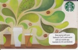 "Malaysia Starbucks Card  ""How To Make Coffee"" 2014-6118 - Gift Cards"