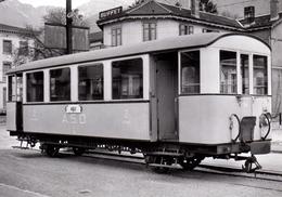 Voiture B2 34. Remarquez Son Châssis Renforcé 1960   ASD BVA - Stations - Met Treinen