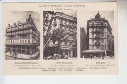 RT29.407 VAR. TOULON .MODERN HOTELS .GIRAUD DIRECTEUR.MARSEILLE. NICE. - Toulon