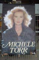 Affiche Ancienn Michele Torr 117 X 77 Cm - Vieux Papiers