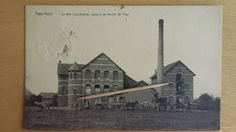 GEET - BETZ - Société Coopérative, Laiterie Et Moulin Saint-Paul, Attelage 1907 - Other