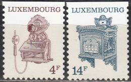 Luxembourg 1991 Michel 1281 - 1282 Neuf ** Cote (2008) 3.00 Euro Musée Des PTT - Luxemburg