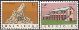 Luxembourg 1993 Michel 1316 - 1317 Neuf ** Cote (2008) 1.60 Euro Schwebsingen / Steinfort - Luxemburg