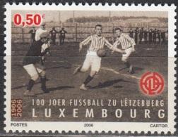 Luxembourg 2006 Michel 1712 Neuf ** Cote (2008) 1.00 Euro 100 Ans Association De Football Luxembourgeoise - Ongebruikt