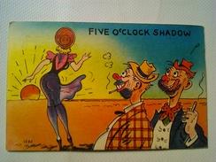 FIVE O'CLOCK SHADOW - COLOURPICTURE - BOSTON 50s. HUMEUR - Humour