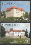 SI 2017-09 EUROPA CEPT, SLOVENIA, 1 X 2v, MNH - Slovénie