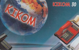 MADAGASCAR - Kikom Red Telephone,10/01, 30 U, Used - Madagaskar