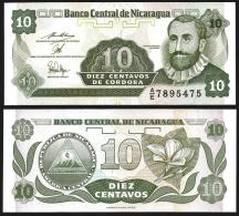 NICARAGUA 10 CENTAVOS ND 1991 P 169 UNC - Nicaragua