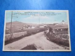 SAONE ET LOIRE  71  ROMANECHE -THORINS   -   MOULIN A VENT    - LABOUREURS    ANIME  TACHES - Autres Communes