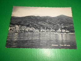 Cartolina Arenzano - Vista Dal Mare - 1956. - Bergamo