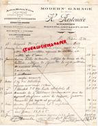 87 - SAINT HILAIRE LES PLACES- FACTURE H. RESTOUEIX -MECANICIEN MODERN GARAGE- AUTOS MOTOS VELOS- 1930 - Cars