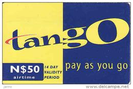 Namibia, Recharge Coupon Tango - Namibia
