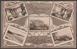 Multiview, Porthminster Hotel, St Ives, Cornwall, C.1910 - Postcard - St.Ives