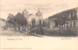 CUBA - Santiago / Plaza Dolores - Cuba