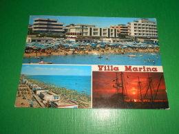 Cartolina Villa Marina - Vedute Diverse 1978 - Rimini