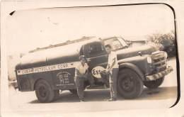 CUBA - La Havane / Photo Card - Cuban Petroleum - Esso - Camion - Beau Cliché - Léger Défaut - Cuba