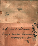 88208) Lettera Con Annullo In Ovale 2 D W.d.o. Da Londra Il 9-12-1897 - 1840-1901 (Regina Victoria)