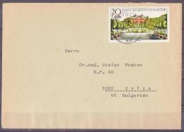 36-416//DDR  - BRIEF Aus  ROSTOCK Nach  SOFIA  1980 - Briefe U. Dokumente