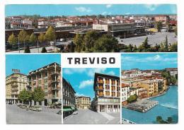 TREVISO VEDUTE   - VIAGGIATA  FG - Treviso