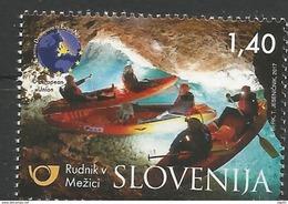 SI 2017-07 TURISAM MEŽICA MINE, SLOVENIA, 1 X 1v, MNH - Slovénie