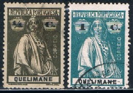Quelimane, 1914, # 25, 27, Used - Quelimane