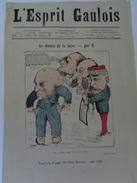 L'ESPRIT GAULOIS.n°40.jeudi 10 Novembre  1881. - 1850 - 1899