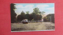 Trolley On Utica Street   Clinton  New York = === Ref  2594 - NY - New York