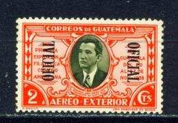 GUATEMALA  -  1939  Air  Official  2c  Mounted/Hinged Mint - Guatemala