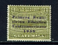 GUATEMALA  -  1938  Philatelic Exhibition  1c  Used As Scan - Guatemala