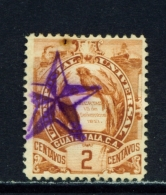 GUATEMALA  -  1886  Arms  2c  Used As Scan - Guatemala