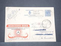 BELGIQUE - Entier Postal Illustré ( Mercedes Benz ) De Gent En 1952 - L 8144 - Entiers Postaux
