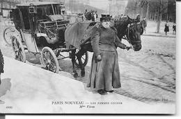 PARIS NOUVEAU - LES FEMMES COCHER  Mme Véron ( Superbe ) - Artigianato Di Parigi