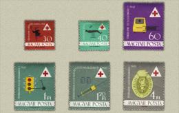 Hungary 1961. Redcross Set MNH (**) Michel:1747-1752 / 3 EUR - Ungarn