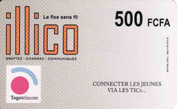 Togo Recharge Card 500 FCFA Illico - Togo