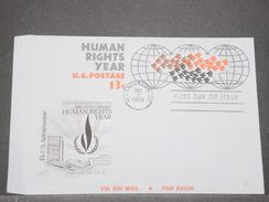 ETATS UNIS - Entier Postal Illustré ( Aérogramme ) Oblitéré En 1968 - L 8161 - 1961-80