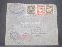 CHILI - Enveloppe En Recommandé De Santiago Pour La France En 1940 Via New York - L 8163 - Chile
