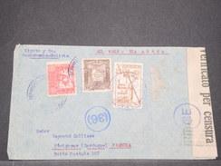 BOLIVIE - Enveloppe De Cochabamba Pour La France En 1940 Avec Contrôle Postal , Affranchissement Plaisant - L 8168 - Bolivia