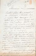 MARBOTIN Docteur En Médecine à Valenciennes.lettre à Monsieur Dinaux. - Autographes