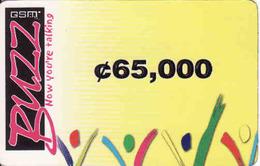 Ghana Buzz GSM 65,000 - Ghana